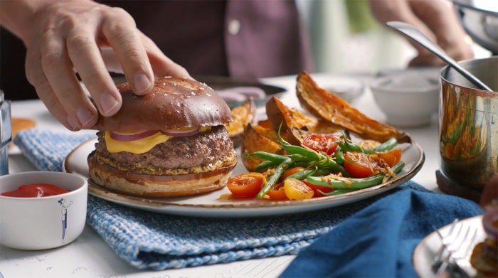 Blue Apron – Burger